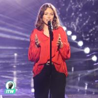 """Laura éliminée de The Voice 8 : """"au fond de moi, j'espérais que Jenifer me vole"""" (Interview)"""