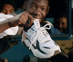 Puma : les rappeurs Alonzo et PLK, l'humoriste Boris Becker et le footballeur Choupo-Moting se dévoilent avec des sneakers RS-X Tracks aux pieds.