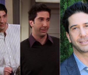 Friends : David Schwimmer au début de la série, à la fin de la série et aujourd'hui