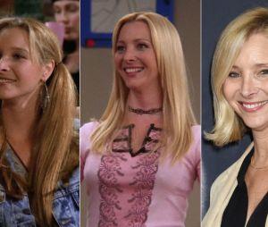 Friends : Lisa Kudrow au début de la série, à la fin de la série et aujourd'hui