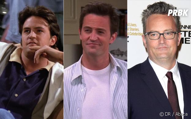 Friends : Matthew Perry au début de la série, à la fin de la série et aujourd'hui