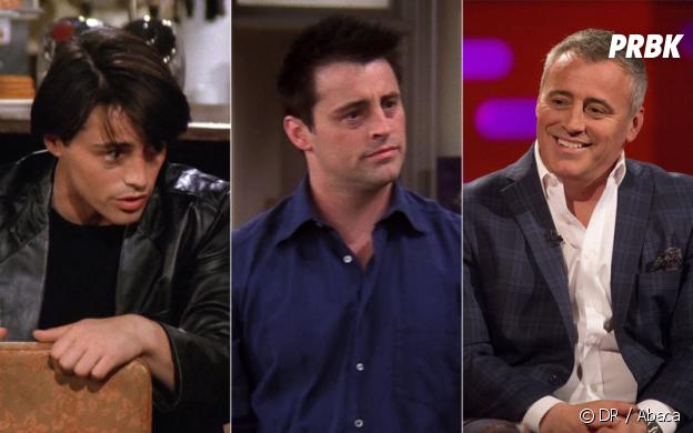 Friends : Matt Leblanc au début de la série, à la fin de la série et aujourd'hui