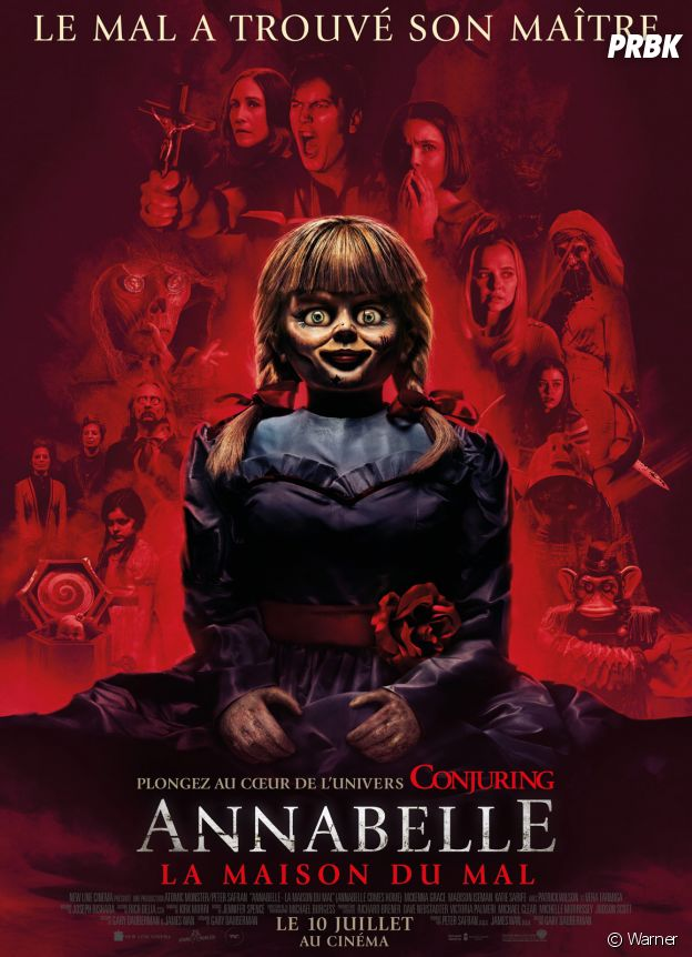 Annabelle de retour dans Annabelle 3.