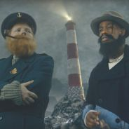 """Ed Sheeran et Travis Scott en plein délire dans le clip de """"Antisocial"""" !"""