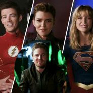 Arrow saison 8 : les acteurs de Flash, Supergirl, Legends... remercient Stephen Amell avant la fin