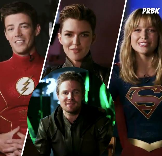 Arrow saison 8 : les acteurs de Flash, Supergirl, Legends... remercient Stephen Amell pour la fin de la série