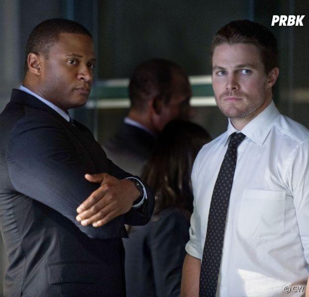 Arrow saison 8 : nouvelles tensions entre Oliver et Diggle cette année ?