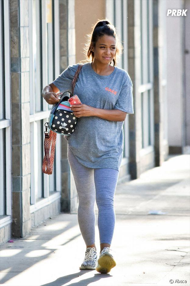 Christina Milian enceinte de M. Pokora : elle dévoile son baby bump