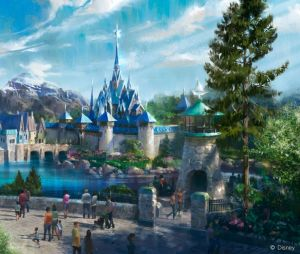 Disneyland Paris, le parc s'agrandit : la première photo de la zone dédiée à La Reine des Neiges