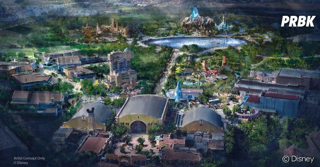 Disneyland Paris : voici à quoi devrait ressembler le nouveau parc avec ses nouvelles zones