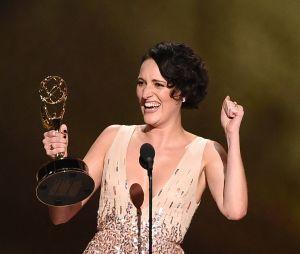 Phoebe Waller-Bridge gagnante aux Emmy Awards 2019 pour Fleabag