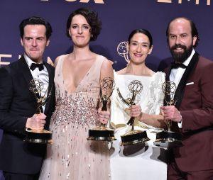Phoebe Waller-Bridge et les acteurs de Fleabag aux Emmy Awards 2019