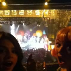 Selena Gomez ... Comme une folle au concert de Katy Perry