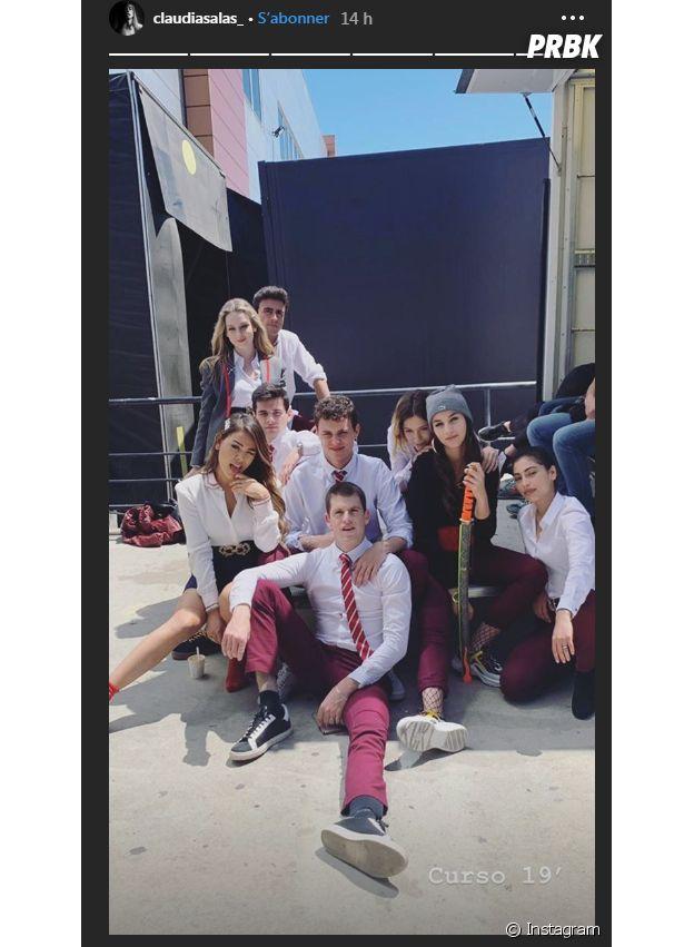 Elite saison 3 : les acteurs réunis pour la fin de tournage
