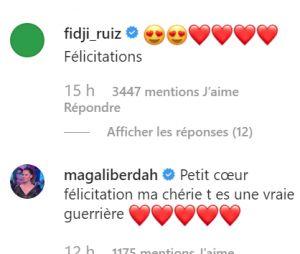 Carla Moreau et Kevin Guedj parents : les messages de félicitations de Fidji et Magali Berdah