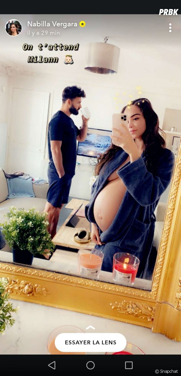 Nabilla Benattia déjà maman ? Selon ce tweet de sa mamie Livia, elle aurait accouché