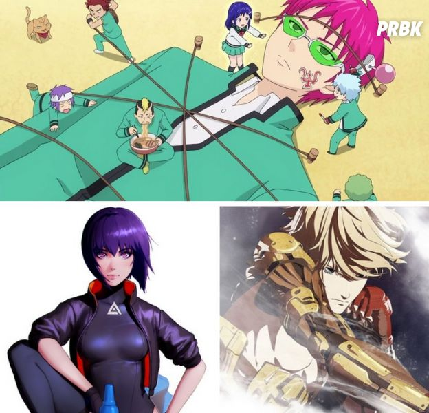 Ghost in the Shell, Levius, Saiki Kusuo no Ψ Nan... Netflix dévoile ses anime originaux