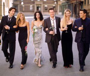 Friends : Jennifer Aniston, David Schwimmer, Courteney Cox, Matthew Perry, Lisa Kudrow et Matt LeBlanc bientôt réunis sur un projet ? L'ex de Brad Pitt répond