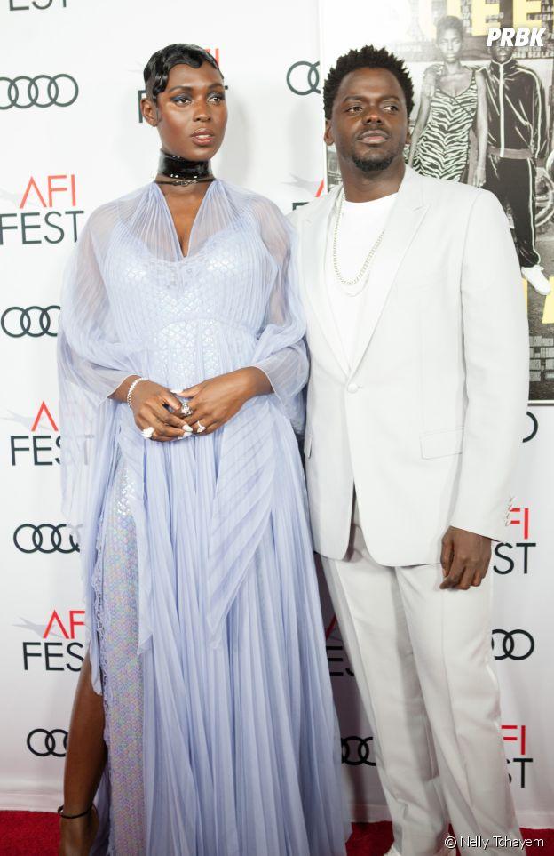 Jodie Turner-Smith et Daniel Kaluuya à l'avant-première du film Queen & Slim le 14 novembre 2019 à Los Angeles