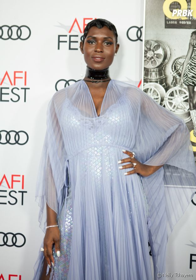 Jodie Turner-Smith à l'avant-première du film Queen & Slim le 14 novembre 2019 à Los Angeles