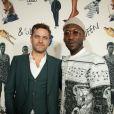 Joshua Jackson et Mahershala Ali à l'avant-première du film Queen & Slim le 14 novembre 2019 à Los Angeles