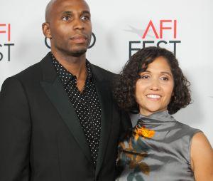 Reginald Cash et son épouse à l'avant-première du film Queen & Slim le 14 novembre 2019 à Los Angeles