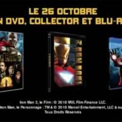Iron Man 2 ... le DVD du film sort aujourd'hui ... bande annonce