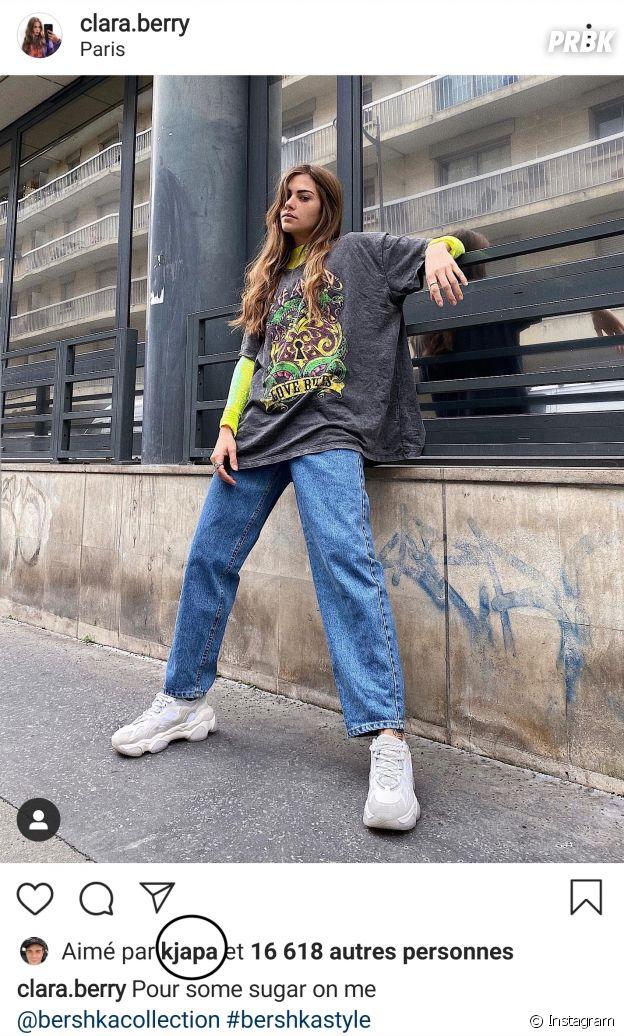 KJ Apa like les photos de Clara Berry sur Instagram