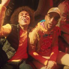 """Gambi et Heuss L'enfoiré jouent les astronautes dans le clip """"Dans l'espace"""""""
