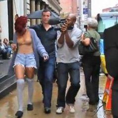 Rihanna ... Les coulisses de son clip What's My Name avec Drake