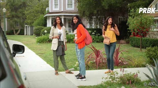 Mes premières fois : la maison de Bob et Lee (Desperate Housewives) en arrière-pla