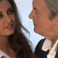 Miss France 2011 ... le président du jury pose avec Malika Ménard