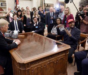 Kanye West a rencontré Donald Trump en 2018