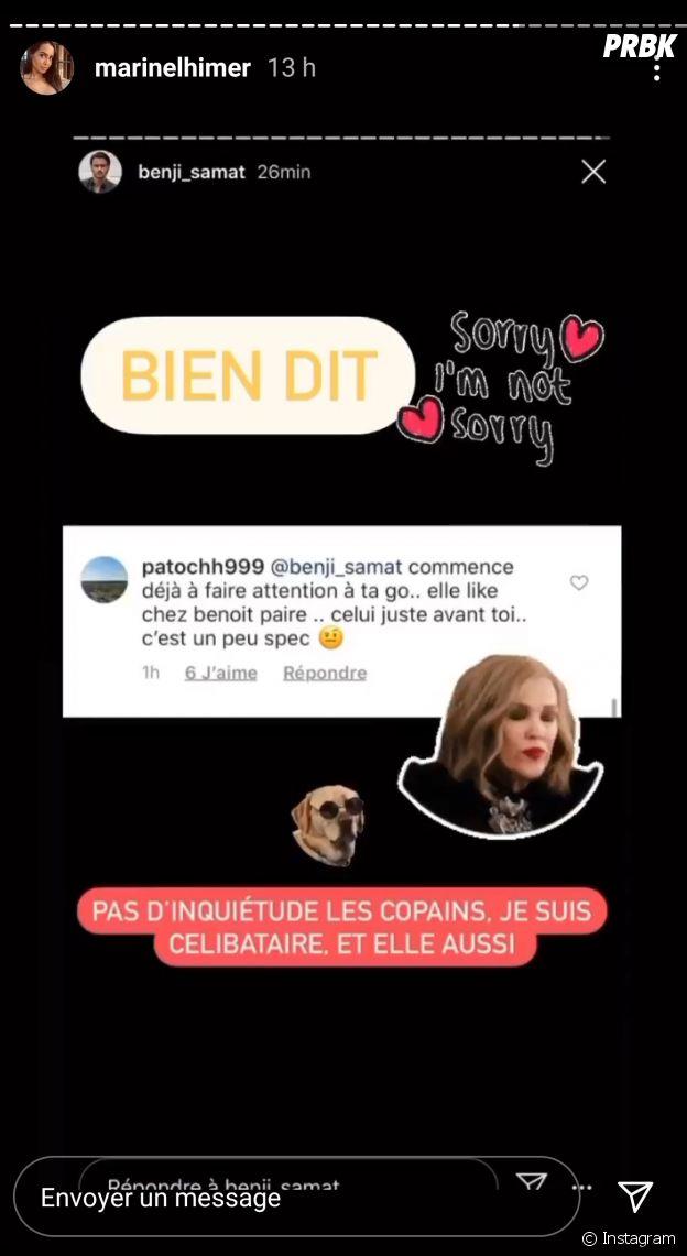 Benjamin Samat et Marine El Himer déjà séparés ? Les candidats des Marseillais VS Le reste du Monde 5 confirment leur rupture