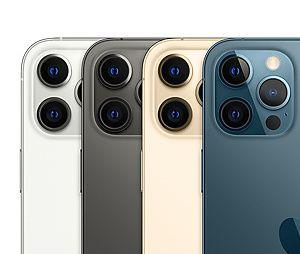 L'iPhone 12 Pro et 12 Pro Max : toutes les couleurs (graphite, argent, or et bleu pacifique)