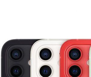 L'iPhone 12, toutes les couleurs : blanc, noir, bleu, vert et (product)red