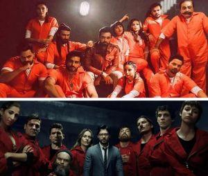 La Casa de Papel : la série de Netflix plagiée par 50 Crore, un film pakistanais ?