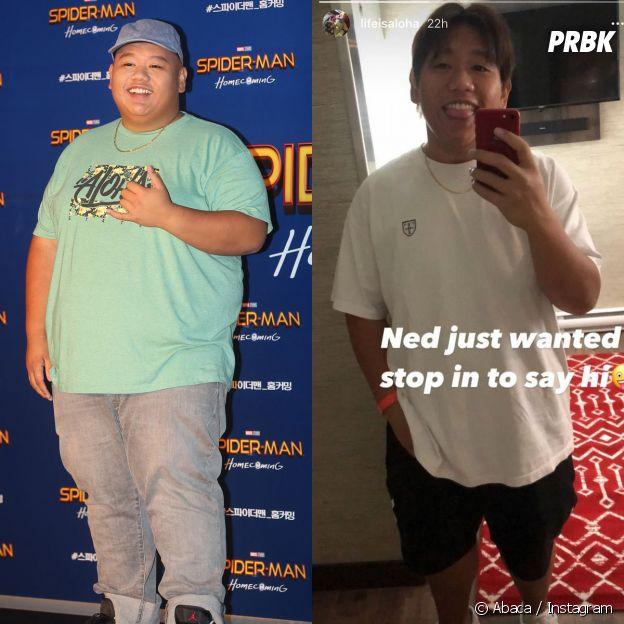 Jacob Batalon avant et après sa perte de poids