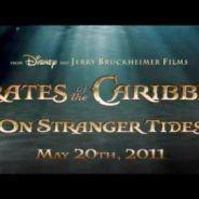 Pirates des Caraïbes 4 ... des images exclusives du tournage