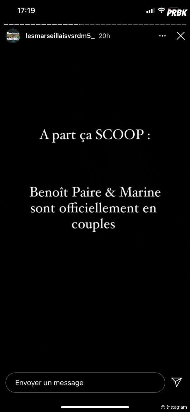 Marine El Himer et Benoît Paire de nouveau en couple ?