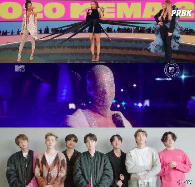 Looks des Little Mix, performance d'Alicia Keys, BTS gagnants... Récap des MTV Europe Music Awards 2020