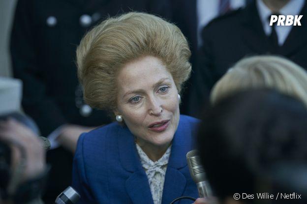 The Crown saison 4 : Gillian Anderson dans le rôle de Margaret Thatcher