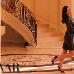 Katy Perry ... Elle joue sa working girl classe et sexy (vidéo)
