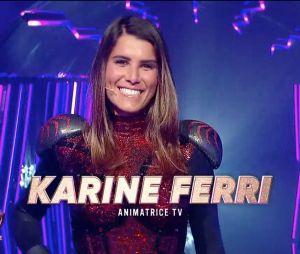 Mask Singer 2 : Karine Ferri se cachait derrière le costume de l'araignée