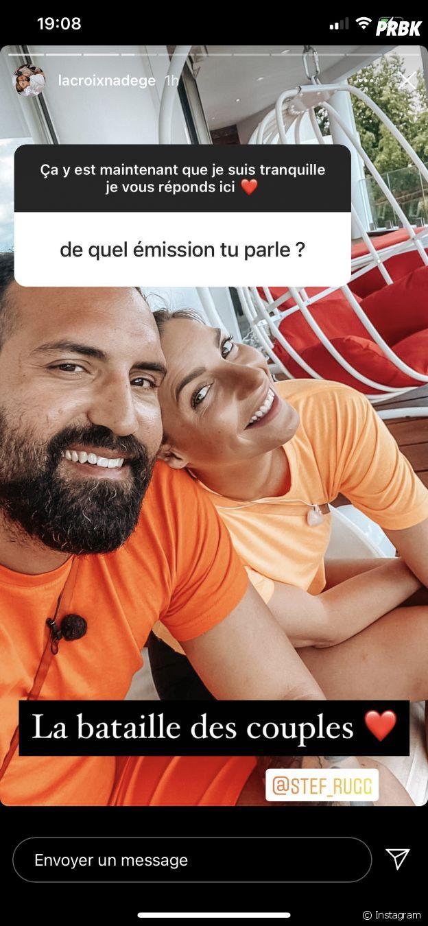 Nadège Lacroix confirme être au casting de La Bataille des couples 3 avec son chéri Stefano