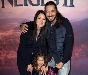 Moundir et sa femme Inès sont parents pour la 3e fois