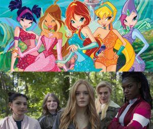 Les personnages de la série animée Winx Club VS les actrices qui jouent les personnages dans Destin : La Saga Winx, la série en live-action de Netflix