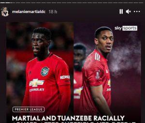 Mélanie Da Cruz et Anthony Martial victimes de racismes et menaces de mort par les fans de Manchester United