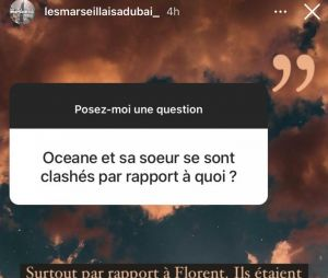 Océane et Marine El Himer en guerre à cause d'un mec ?