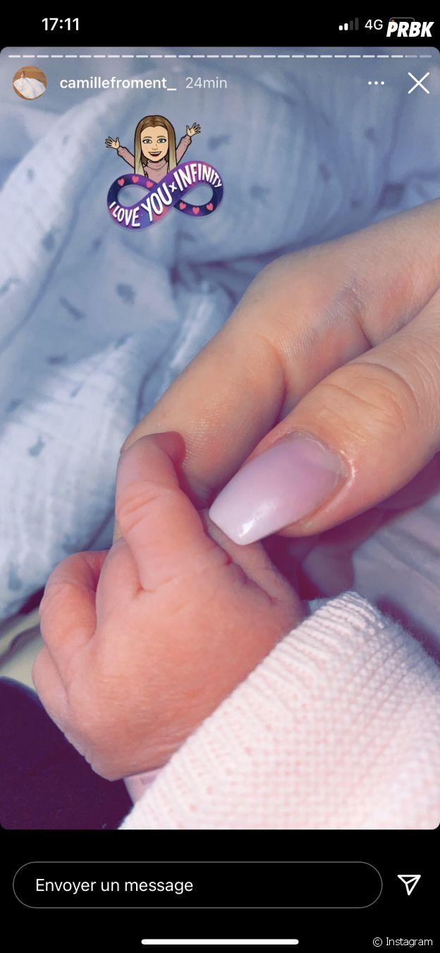 Camille Froment (Les Marseillais) maman : elle annonce la naissance de sa fille !